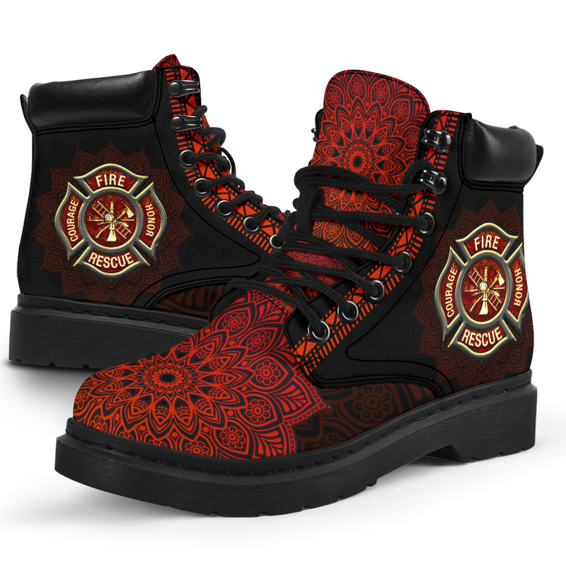 """FIREFIGHTER LEATHER BOOT@ zolagifts firefighter@all-season-boots"""" 287825"""
