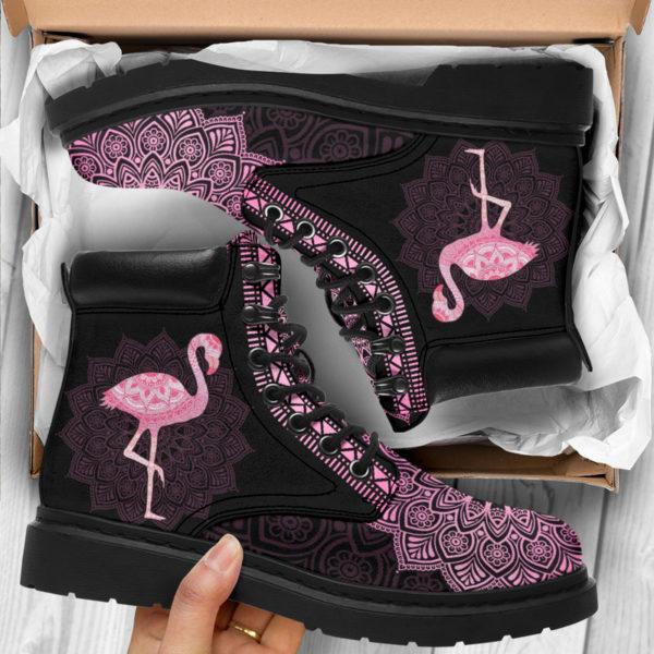 "FLAMINGO LEATHER BOOT@ zolagifts flamingoboot@all-season-boots"" 287462"