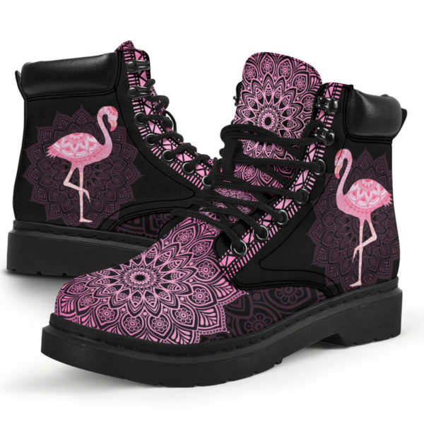 "FLAMINGO LEATHER BOOT@ zolagifts flamingoboot@all-season-boots"" 287457"