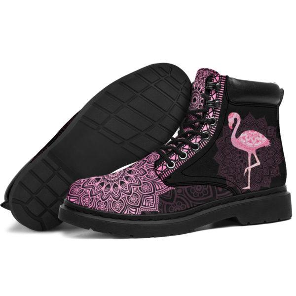 "FLAMINGO LEATHER BOOT@ zolagifts flamingoboot@all-season-boots"" 287456"