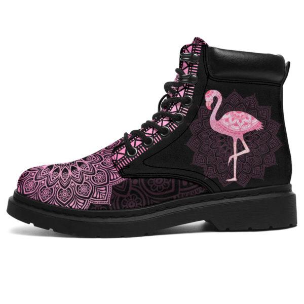 "FLAMINGO LEATHER BOOT@ zolagifts flamingoboot@all-season-boots"" 287455"