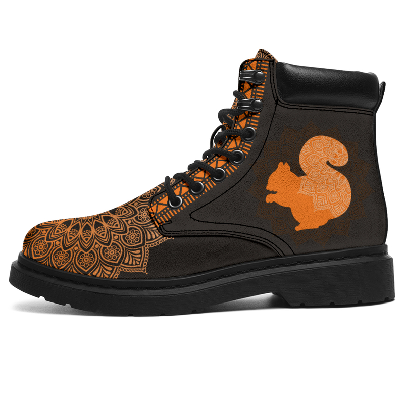 "SQUIRREL LEATHER BOOT@ zolagifts squirrel@all-season-boots"" 286718"