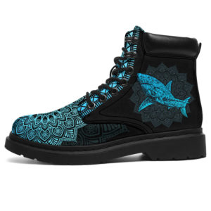 """SHARK LEATHER BOOT@ zolagifts sharkshoes@all-season-boots"""" 286442"""