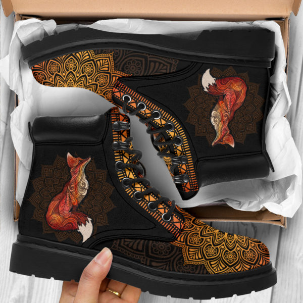 """FOX LEATHER BOOT@ zolagifts fox@all-season-boots"""" 286404"""