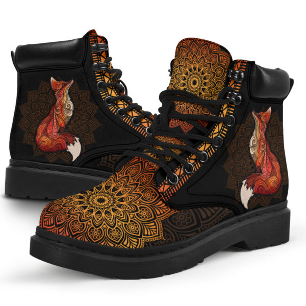 """FOX LEATHER BOOT@ zolagifts fox@all-season-boots"""" 286399"""