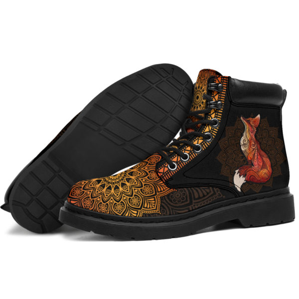"""FOX LEATHER BOOT@ zolagifts fox@all-season-boots"""" 286398"""