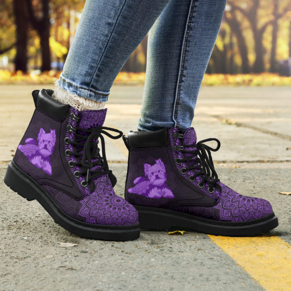 """YORKIE LEATHER BOOT@ zolagifts yorkie@all-season-boots"""" 286356"""