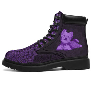 """YORKIE LEATHER BOOT@ zolagifts yorkie@all-season-boots"""" 286350"""