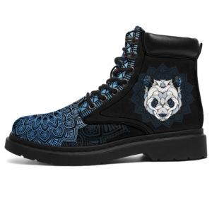 "PANDA LEATHER BOOT@ zolagifts pandashoes@all-season-boots"" 286258"