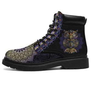 "OWL LEATHER BOOT@ zolagifts owlbootano@all-season-boots"" 286120"
