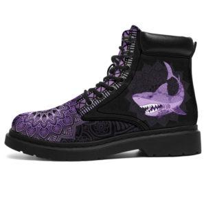 "SHARK LEATHER BOOT@ zolagifts sharknewboot@all-season-boots"" 284832"