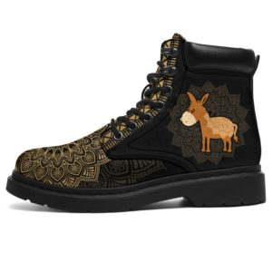 "DONKEY LEATHER BOOT@ zolagifts donkey@all-season-boots"" 284602"