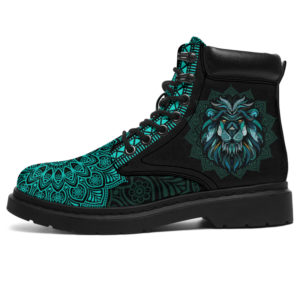 """LION LEATHER BOOT@ zolagifts lionshoes@all-season-boots"""" 284556"""
