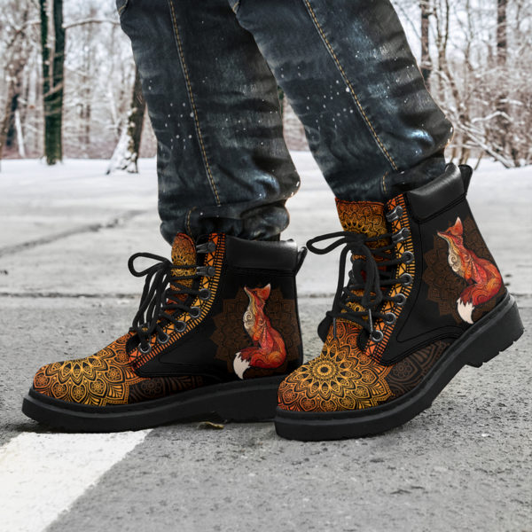 "FOX LEATHER BOOT@ zolagifts foxduplicateboot@all-season-boots"" 284517"