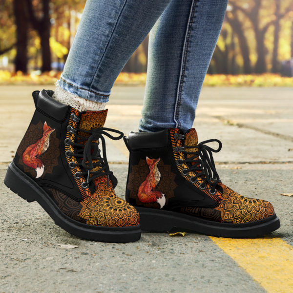 "FOX LEATHER BOOT@ zolagifts foxduplicateboot@all-season-boots"" 284516"