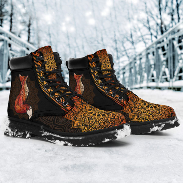 "FOX LEATHER BOOT@ zolagifts foxduplicateboot@all-season-boots"" 284515"