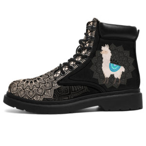 "LLAMA LEATHER BOOT@ zolagifts llamashoes@all-season-boots"" 284418"