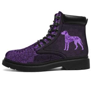 "DALMATIAN LEATHER BOOT@ zolagifts DALMATIAN@all-season-boots"" 284372"