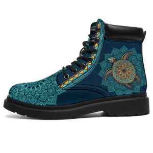 """TURTLE LEATHER BOOT@ zolagifts turtle@all-season-boots"""" 284188"""