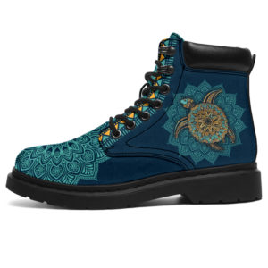 """TURTLE LEATHER BOOT@ zolagifts newshoe@all-season-boots"""" 284142"""
