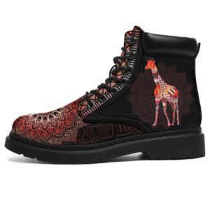 "GIRAFFE LEATHER BOOT@ zolagifts gifa@all-season-boots"" 284050"