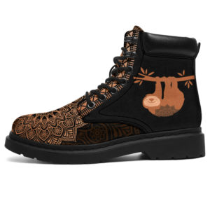 """SLOTH LEATHER BOOT@ zolagifts slothshoes@all-season-boots"""" 284004"""