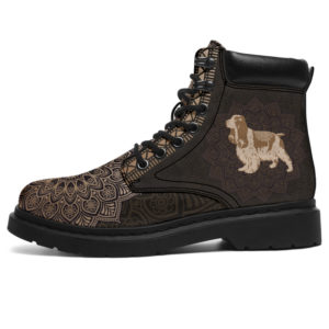 """COCKER LEATHER BOOT@ zolagifts cocker@all-season-boots"""" 283681"""