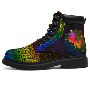 "UNICORN LEATHER BOOT@ zolagifts unicornshoe@all-season-boots"" 283589"