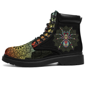 """SPIDER LEATHER BOOT@ zolagifts spider@all-season-boots"""" 283267"""