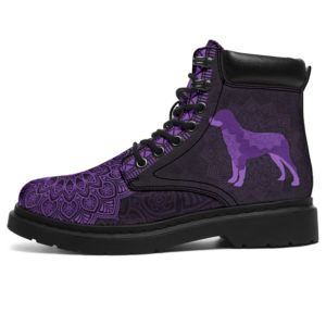 """ROTTWEILER LEATHER BOOT@ zolagifts rottweilerboot@all-season-boots"""" 283221"""