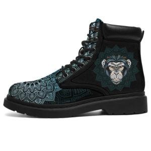 "MONKEY LEATHER BOOT@ zolagifts monkey@all-season-boots"" 283129"