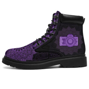 """PHOTOGRAPHER LEATHER BOOT@ zolagifts photographer@all-season-boots"""" 282853"""