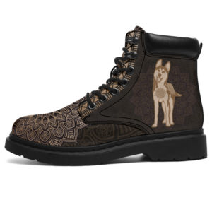 "HUSKY LEATHER BOOT@ zolagifts husky@all-season-boots"" 282669"