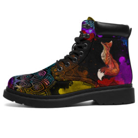 Fox All Season Boots Vegan Boots, All-Season Boots For Womens, Mens, Personalized Boots, Customized Boots