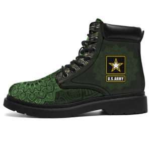 """MILITARY DRIVER LEATHER BOOT@ zolagifts militaryboot@all-season-boots"""" 281795"""