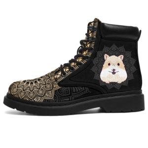 "CHINCHILLA LEATHER BOOT@ zolagifts chinchillashoes@all-season-boots"" 281749"