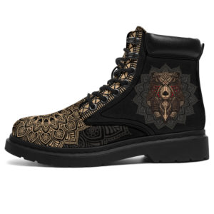 """BEAR LEATHER BOOT@ zolagifts bearshoes@all-season-boots"""" 281703"""