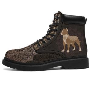 "PITBULL LEATHER BOOT@ zolagifts pitbullboot@all-season-boots"" 281565"