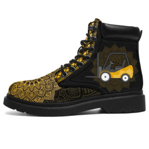 """FORKLIFT DRIVER LEATHER BOOT@ zolagifts driverboot@all-season-boots"""" 281473"""