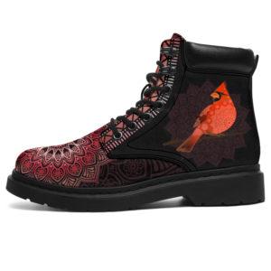 "CARDINAL BIRD LEATHER BOOT@ zolagifts cardinalbird@all-season-boots"" 281335"