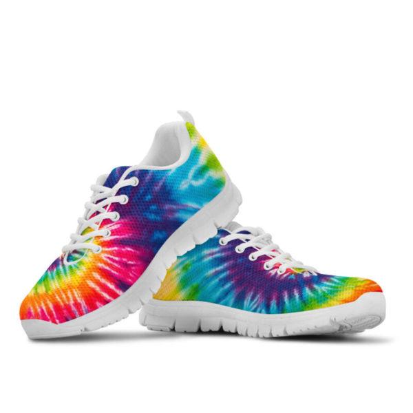 COLORFUL TIE DYE - HIPPIE SNEAKERS@ zingpalm colorful hippie sneakers@sneakers 280183