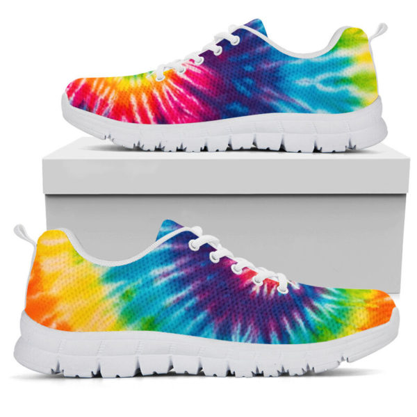 COLORFUL TIE DYE - HIPPIE SNEAKERS@ zingpalm colorful hippie sneakers@sneakers 280181