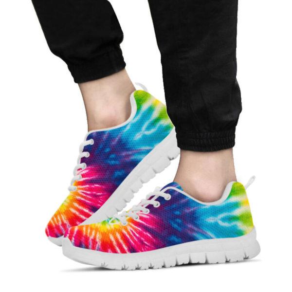 COLORFUL TIE DYE - HIPPIE SNEAKERS@ zingpalm colorful hippie sneakers@sneakers 280180