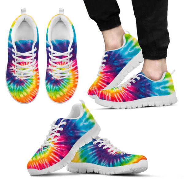 COLORFUL TIE DYE - HIPPIE SNEAKERS@ zingpalm colorful hippie sneakers@sneakers 280179