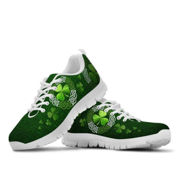 Irish Shamrock & Vector Circle Celtic Shoes SKY@ springlifepro irisce737e893@sneakers 269904