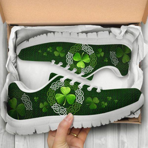 Irish Shamrock & Vector Circle Celtic Shoes SKY@ springlifepro irisce737e893@sneakers 269903