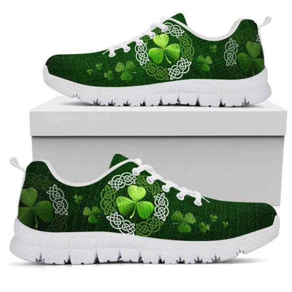 Irish Shamrock & Vector Circle Celtic Shoes SKY@ springlifepro irisce737e893@sneakers 269902