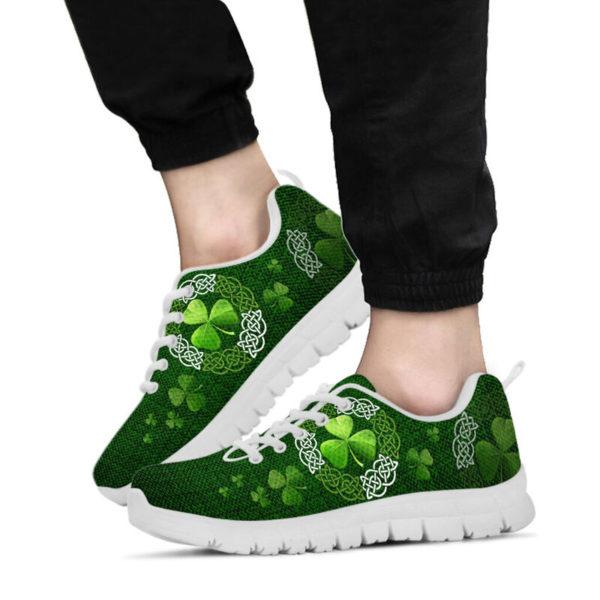 Irish Shamrock & Vector Circle Celtic Shoes SKY@ springlifepro irisce737e893@sneakers 269901