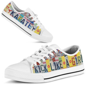 karate kick like a girl license plates low top@ springlifepro karatv32d3v2@low-top 266340