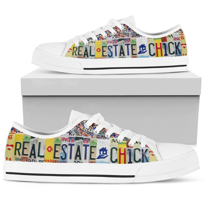 real estate chick license plates low top@ springlifepro read1vb6d@low-top 265041